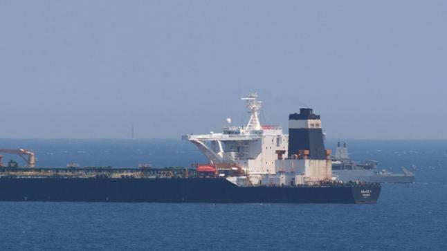 سلطات جبل طارق توقف قبطان ناقلة النفط الإيرانية المحتجزة