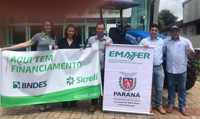 """Mais dois produtores de Araruna são beneficiados com o Programa """"Trator Solidário"""""""