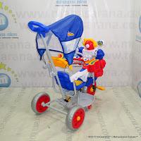 Sepeda Roda Tiga Family Robot