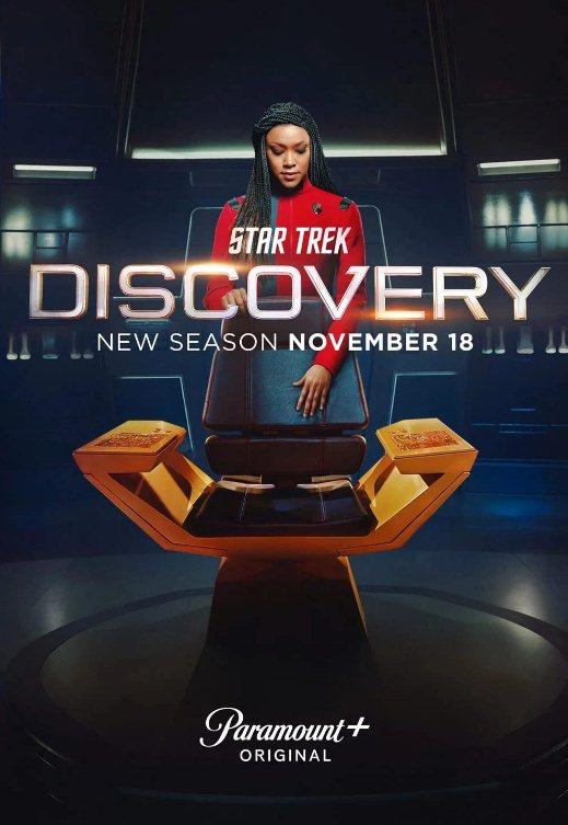 Sezonul 4 din Star Trek: Discovery în curând pe Netflix (sperăm)