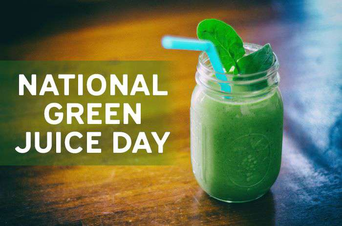 National Green Juice Day Wishes