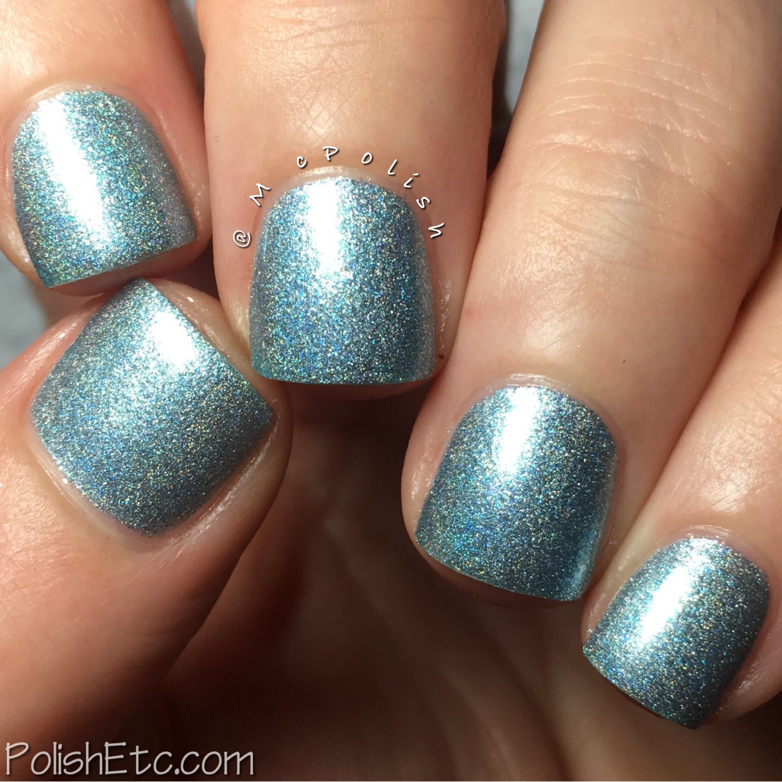Ellagee - Hella Holo Customs - McPolish - Aquatic