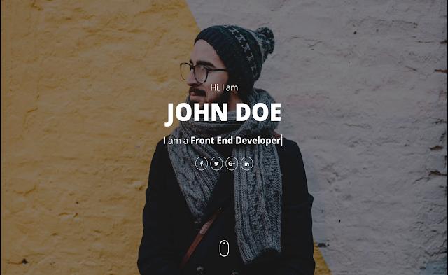 Vivid шаблон blogger для Landing Page