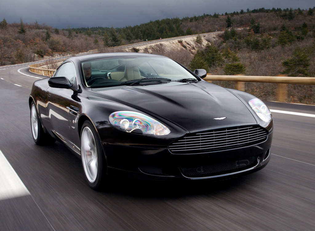 Aston Martin Db9 Black