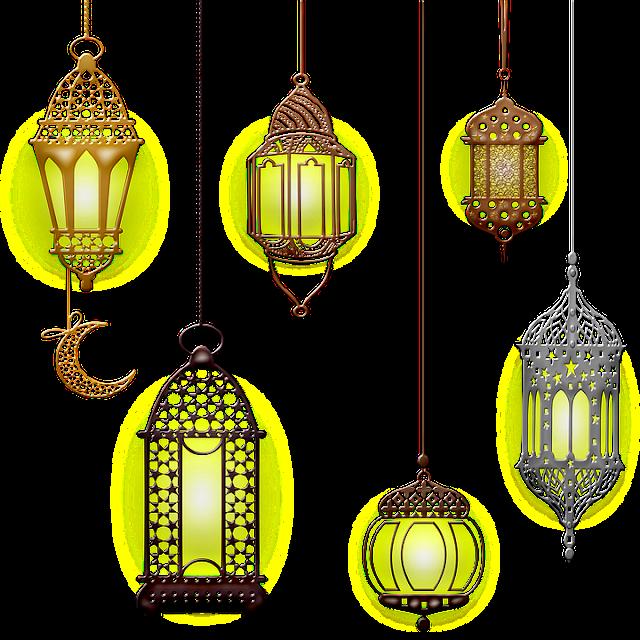 أباليك تستخدم في الفن الإسلامي
