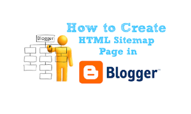 Create an interesting HTML Sitemap Page on Blogger