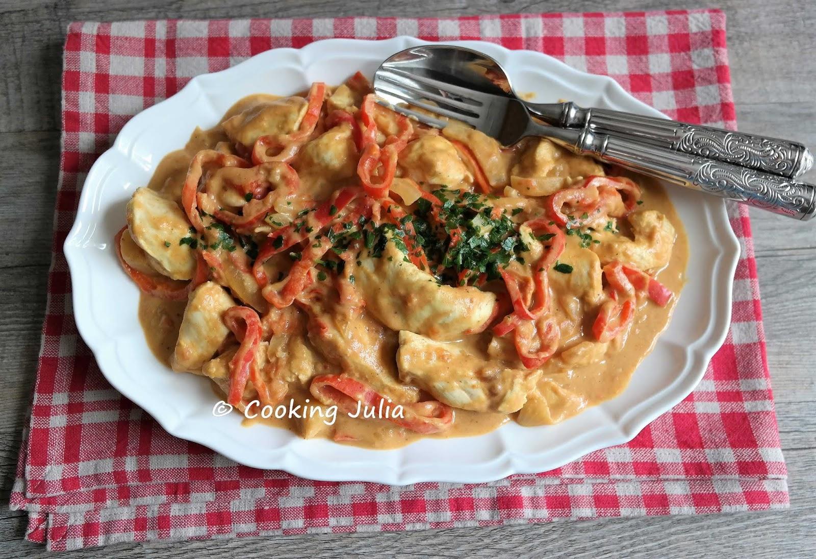 Cooking Julia Curry De Poulet Au Beurre De Cacahuete