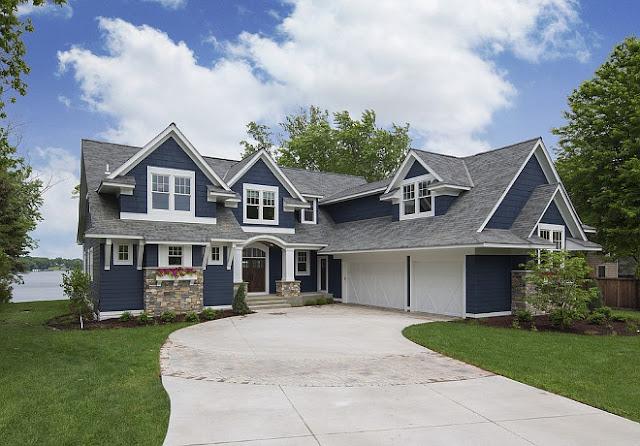 Красивый загородный дом у озера Миннетонка, штат Миннесота, США