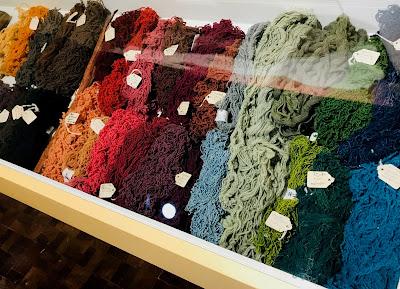 Fibras textiles teñidas con tintes naturales