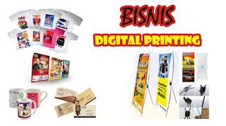 Usaha Digital Printing Bisnis yang Menjanjikan Keuntungan di Era Digital