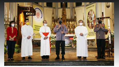 Jelang Perayaan Paskah, Kapolri Langsung Tinjau Pengamanan Gereja di Jakarta