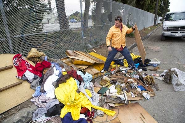 I've Seen People Turn Garbage Into Some Cool Stuff. But THIS…. This Is Absolute Brilliance. - Gregory digs through illegally dumped trash and goes dumster diving
