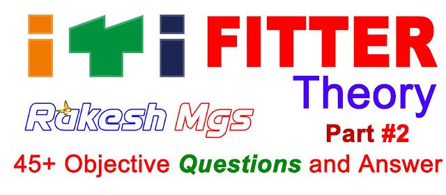 ITI Fitter Theory Part-2