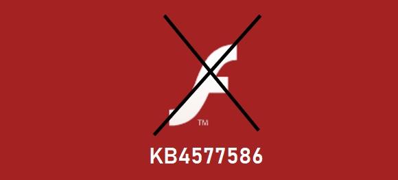 adobe flash EOL KB4577586