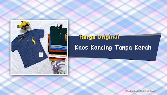 10 Rekomendasi Harga KAOS KANCING KERAH Termurah dan Terlaris Harga Original - maspaical.com