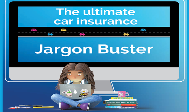 The Ultimate Car Insurance Jargon Buster #infographic