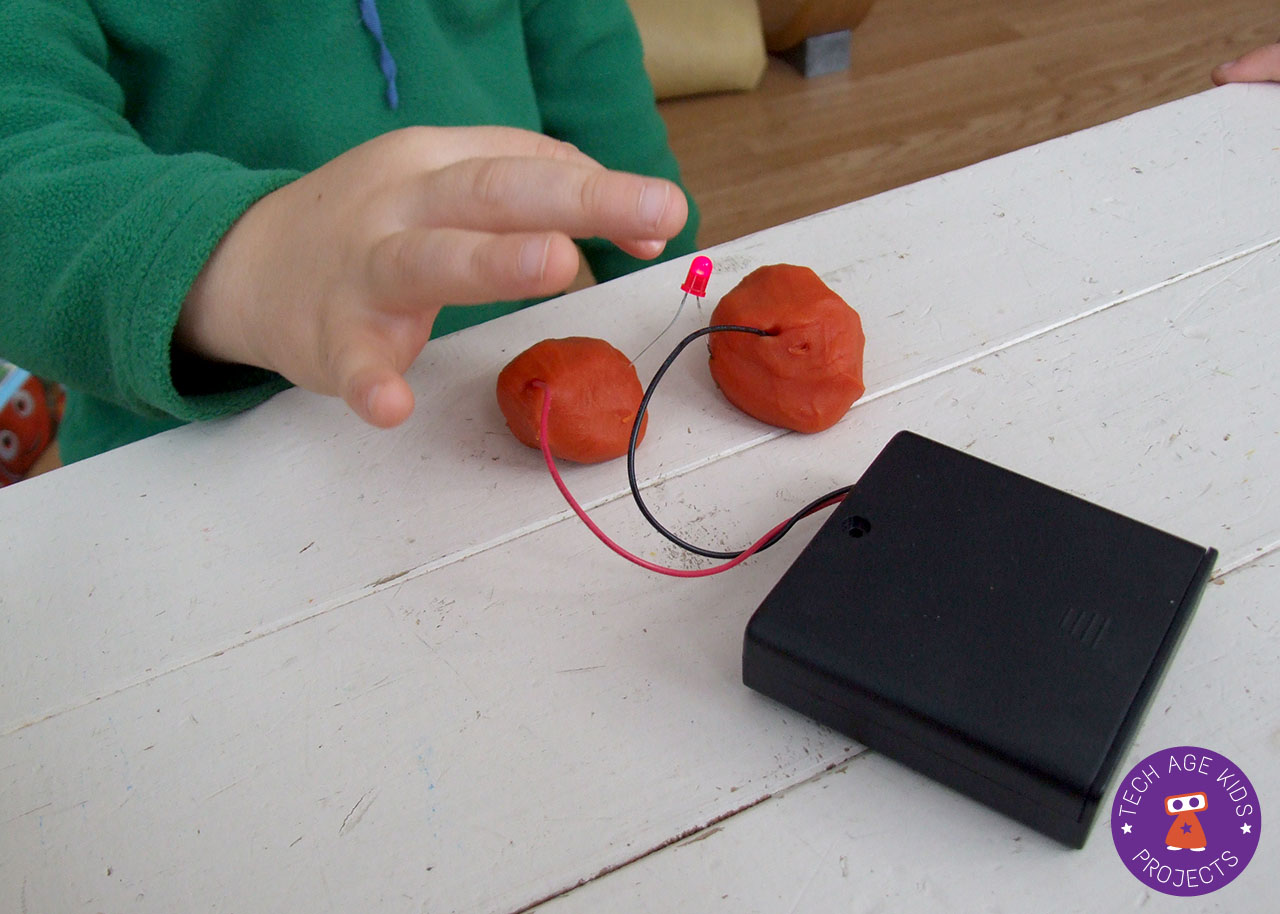 Learn About Circuits Using Electro Dough Squishy Making Conductive The Kit Includes A Small Pictorial Brochure Which Kids Enjoyed To Test Out Their They Very Quickly Figured What