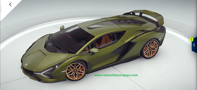 Supercar Lamborghini Sián FKP 37