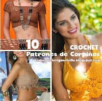10 corpiños para tejer a crochet
