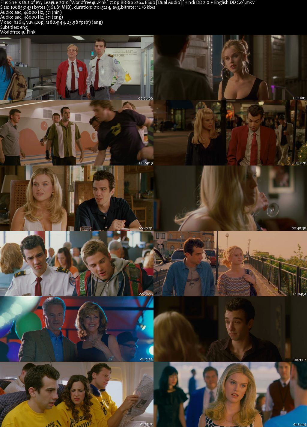 She's Out of My League 2010 BRRip 720p Dual Audio