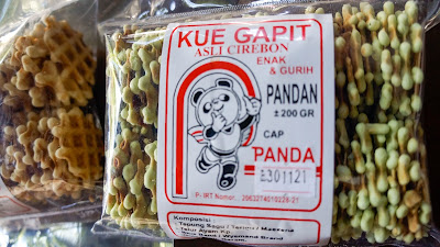 Kue Gapit Cirebon, Oleh-oleh Khas Cirebon, Souvenir Cirebon, Toko Oleh-oleh Khas Cirebon