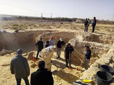 Βυζαντινή εκκλησία που βρέθηκε στο Tozeur της Τυνησίας