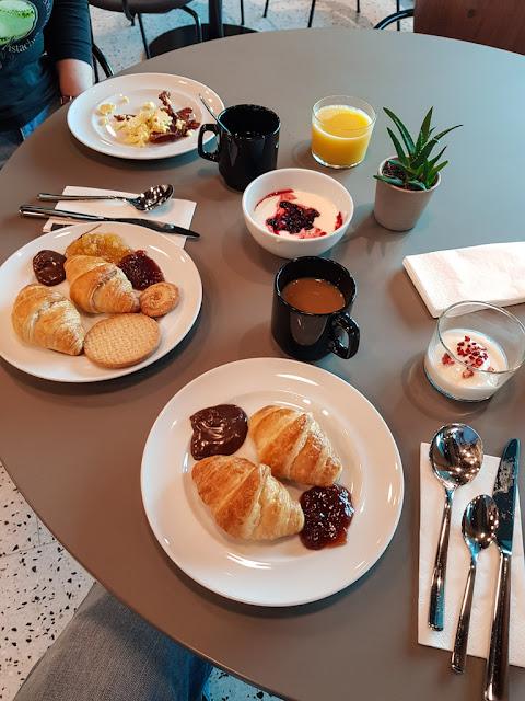 Comfort hotel Copenhagen airport-Sala colazioni