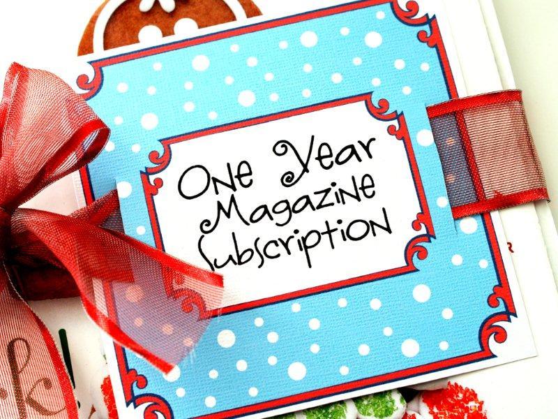 Diy Christmas Magazine Subscription Printable