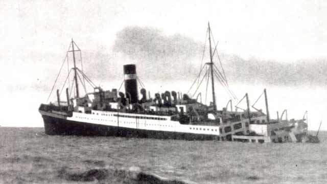 SS Athenia sinking, 3 September 1939 worldwartwo.filminspector.com