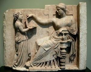 Mungkinkah ada laptop pada masa kuno, lihat Gravestone kuno ini dulu..