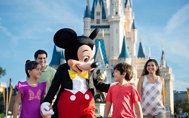 Família em Orlando