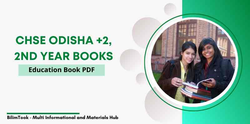 CHSE Odisha Plus Two 2nd Year Education Book PDF, +2 Arts 2021