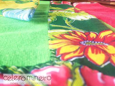 a chita e suas flores de cores vibrantes
