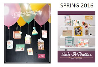 Stampin'UP!'s Spring 2016 Occasions Catalog and Sale-a-bration Brochure