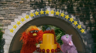 Murray and Ojevita the number of day 17, 17 stars, Sesame Street Episode 4311 Telly the Tiebreaker season 43