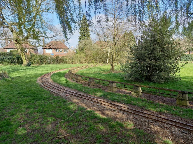 Handforth Miniature Railway at Meriton Road Park