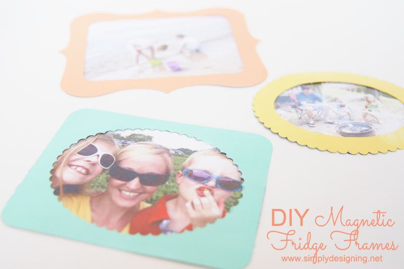 Diy Magnetic Fridge Frames
