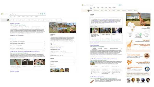 SERp infographics: Microsoft Bing Launched 5 Upgrades to Search Results: eAskme