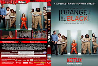 ORANGE IS THE NEW BLACK – TODAS LAS TEMPORADAS – 2013 / 2019 [COVER – DVD]