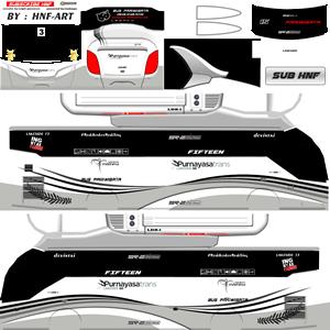 Livery Bussid Purnayasa SR2 XHD