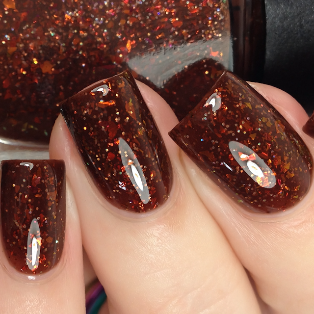 Lollipop Posse Lacquer-Beware the Autumn People