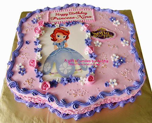Birthday Cake Sofia the first
