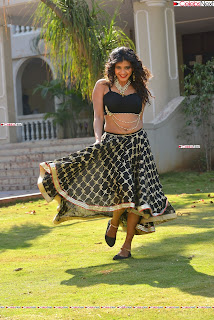 Hebah Patel in Spicy Black Choli and Ghagra HD Pics  014.jpg