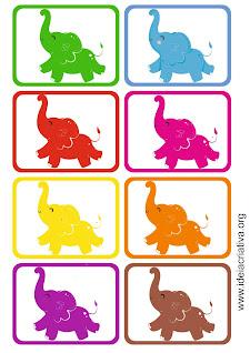 Trabalhando cores na Educação Infantil cards bncc