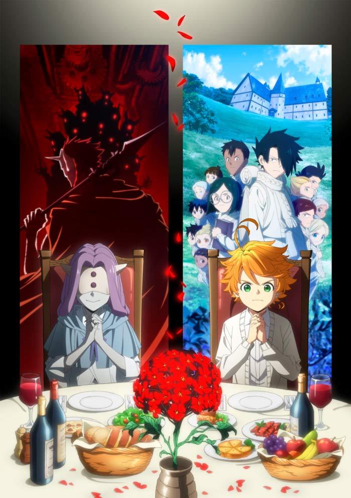 The Promised Neverland (Yakusoku no Neverland) anime - Temporada 2 - poster
