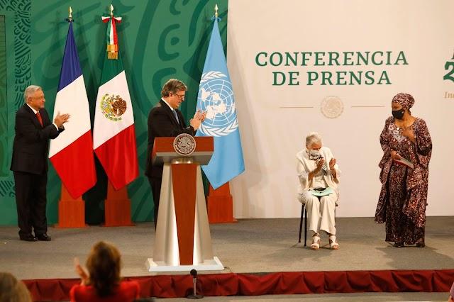 LOS PRESIDENTES DE MÉXICO Y FRANCIA, LÍDERES DE LA ONU, LAS Y LOS JÓVENES Y LA SOCIEDAD CIVIL HACEN UN LLAMADO URGENTE A LA ACCIÓN EN LA INAUGURACIÓN DEL FORO GENERACIÓN IGUALDAD EN MÉXICO