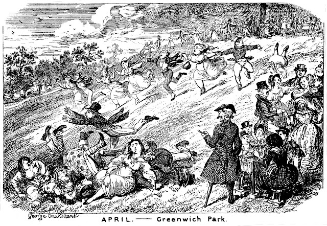 George Crukshank cartoon 1878 the latest thing