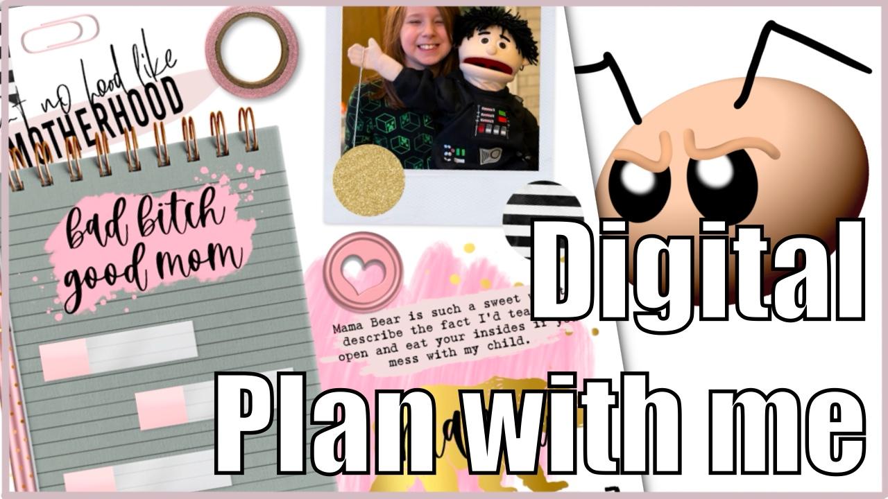Leni Digitals plan with me