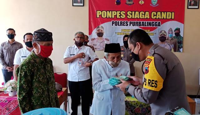 Peluncuran Ponpes Siaga Candi di Kecamatan Karanganyar Purbalingga, Ini Tujuannya