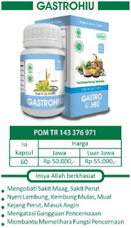GASTROHIU - Herbal Indo Utama - Traditional Herbal Medicine